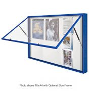 """1000"" Professional Extra Large External Notice Boards"