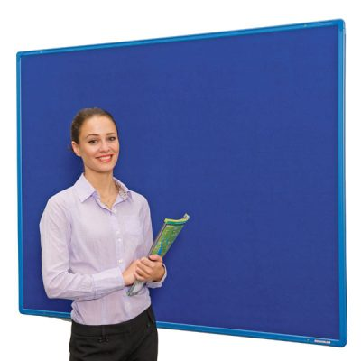coloured frame felt pin boards