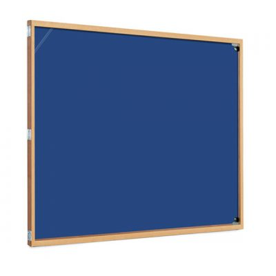 cheap wood frame tamperproof notice board