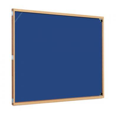 cheap wood frame tamperproof notice board