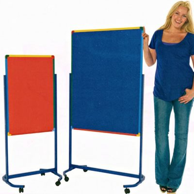 Junior Mobile Partition Pinboard Lrg