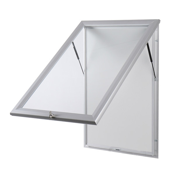 real glass external notice board