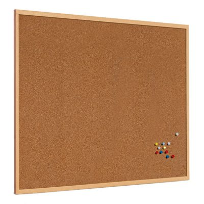 Cork Notice Board With 25mm Or 40mm Wood Frame
