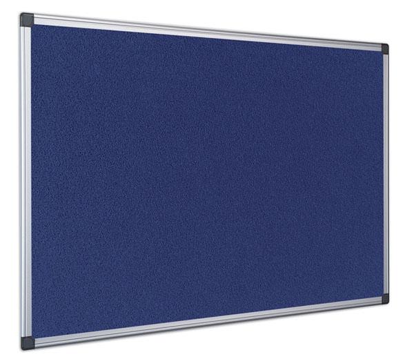 Cheap Felt Notice Boards Budget Priced Aluminium Framed