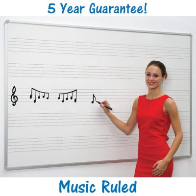 Music Ruled Whiteboard
