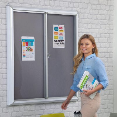 Sliding Door Notice Boards