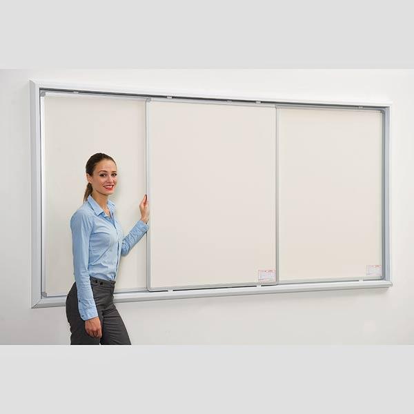 sliding whiteboard system