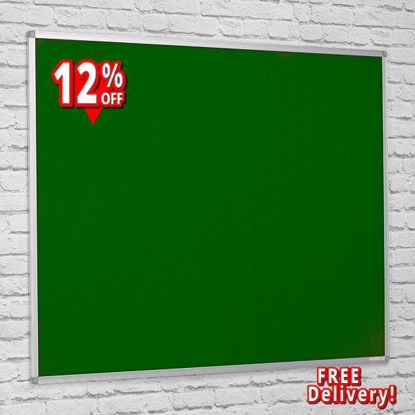 cheap felt notice boards with aluminium frame