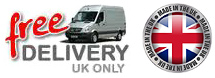 free delivery made in the uk