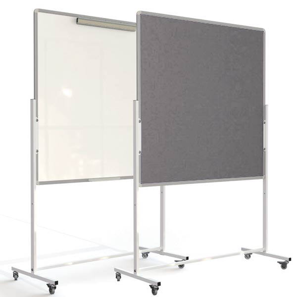 mobile combination notice board