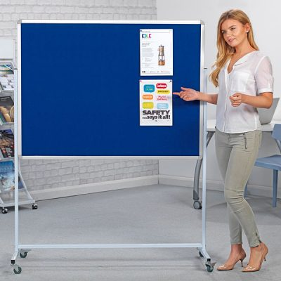 Mobile Notice Boards & Freestanding Pin Boards