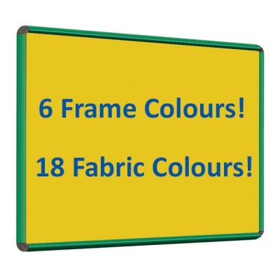 felt notice board with Colour Frame