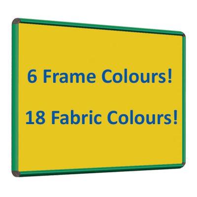felt notice board with Colour Frame