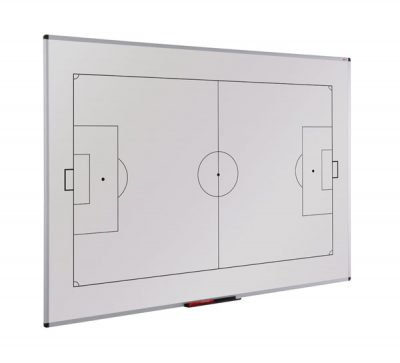 magnetic printed Tactical football whiteboard for training and strategy planning