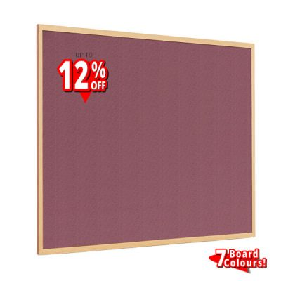 Sundeala Wood Framed Notice Boards