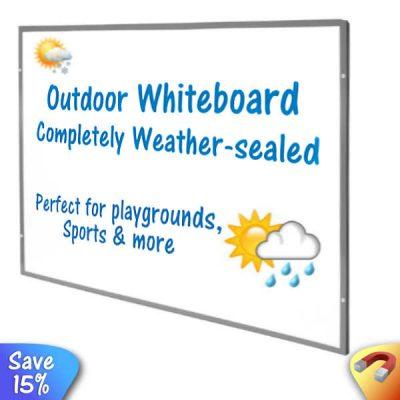 outdoor whiteboards weather-proof dry wipe board