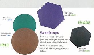 sundeal shapes in different colours