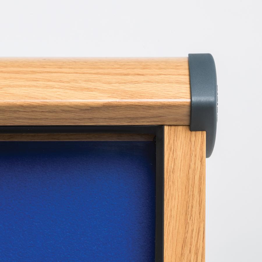 Wood Frame External Notice Board