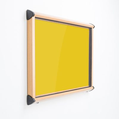 wood frame external notice board