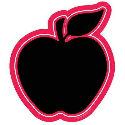 fruit shaped chalk board Apple shape