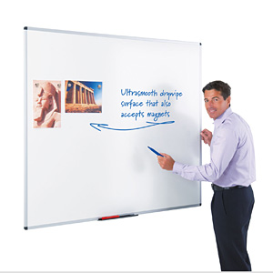Wall Mounted Magnetic & Non-Magnetic Whiteboards