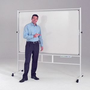 Mobile Whiteboards - Revolving & Freestanding