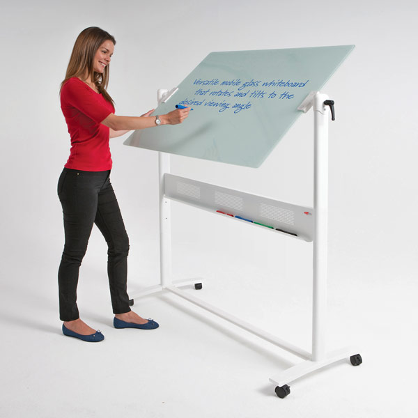 revolving glass mobile Whiteboard