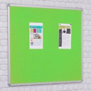 fire retardant felt notice board