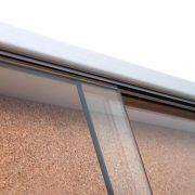 Sliding Glass Door Cork Notice Board door detail