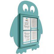 penguin external notice board