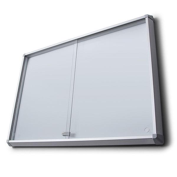 magnetic sliding glass door notice board