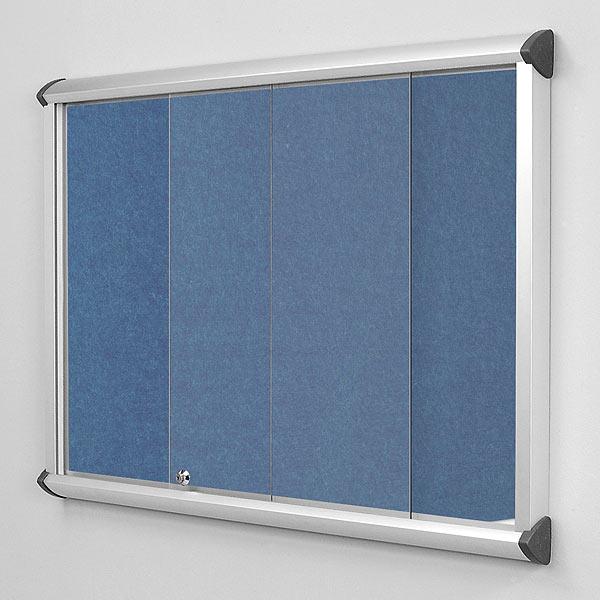Sliding Glass Door Notice Boards Fire Resistant 11