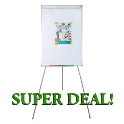 cheap flip chart easel