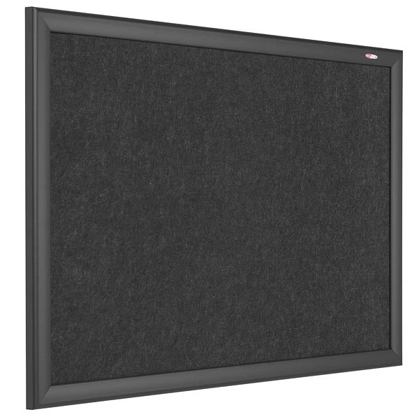 Black Felt Notice Board
