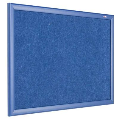 eco friendly blue frame notice board