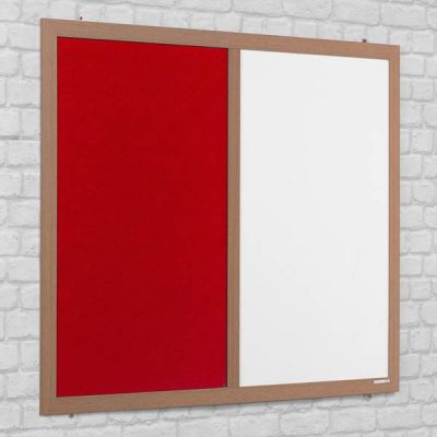 eco friendly combination notice board