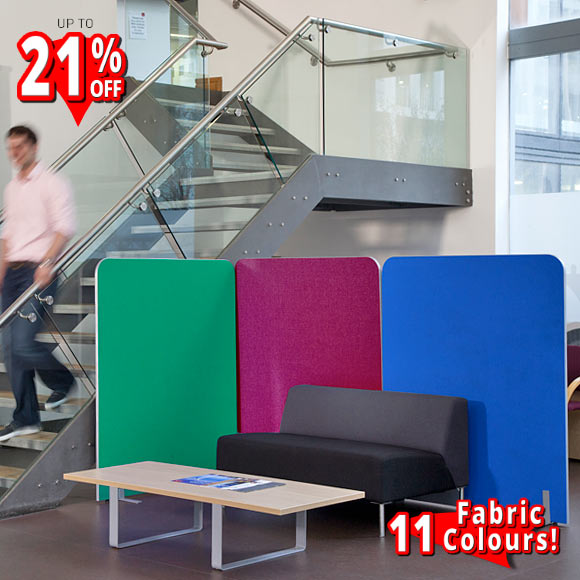 pinnable curved partition screens