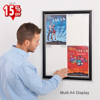 busygrip multiple A4 Poster Frame
