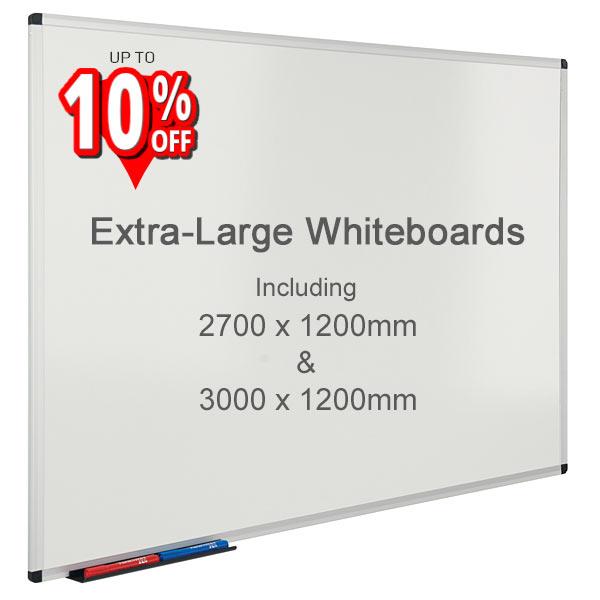 extra large whiteboards