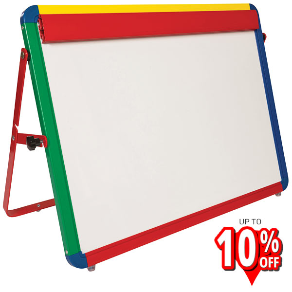 Childrens Desktop Whiteboard Easel Harlequin Frame