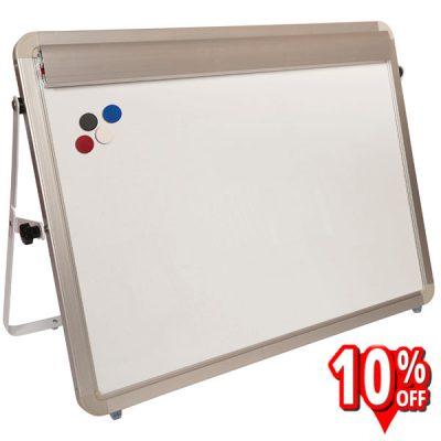 magnetic whiteboard desktop easel