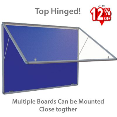 Top Hinged Tamperproof Notice Board