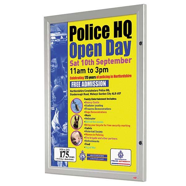 BusyGrip Locking Poster Case