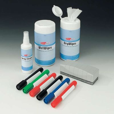 Deluxe Dry wipe Whiteboard Accessory Kit