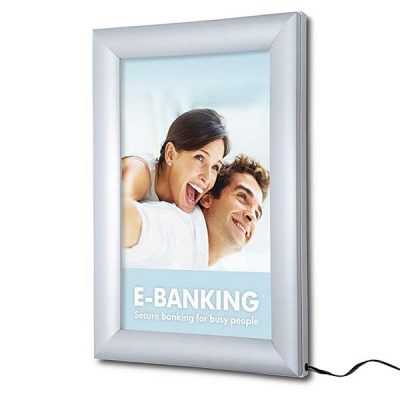 LED Poster Snap Frame
