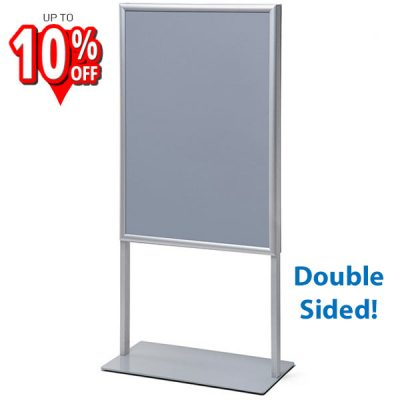 Double-sided Poster Stand freestang poster display