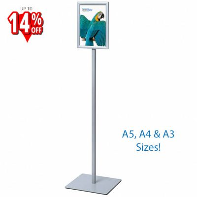 Freestanding Poster Sign Post